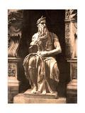 Michelangelo's Moses  1890s