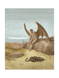 Satan Finding Serpent  by Dore