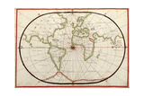 Map of the World  1590