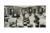 The Verandah Cafe of the Titanic