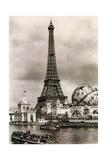 Eiffel Tower  Paris Expo  1900