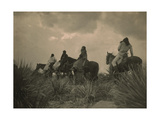 Apache Indians by Edward S Curtis
