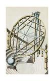 Tycho Brahe's Armillary Sphere