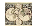 World Map  1690
