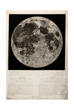 Moon Surface by John Russell  for Herschel  1806