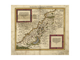 Map of Palestine  1588