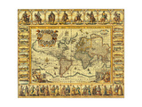 World Map 1626