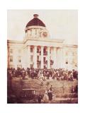 Davis Sworn In  President of the Confederacy  1861