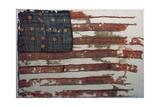 Hulbert Flag  Early US Flag  1776