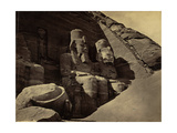Abu Simbel Temple  1850's