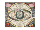 The Universe of Brahe  Harmonia Macrocosmica  1660