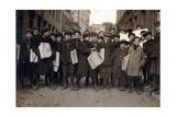 Newark Newsboys  Lewis Hine  1909