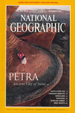 Cover of the December  1998 Issue of National Geographic Magazine
