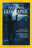 Cover of the April  1992 Issue of National Geographic Magazine
