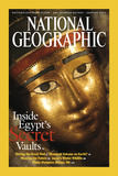 Cover of the January  2003 Issue of National Geographic Magazine