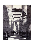Karnak  Great Hypostyle Hall  19th Century