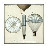 André-Jacques Garnerin's Parachute  1797