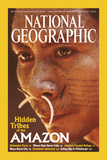 Cover of the August  2003 Issue of National Geographic Magazine