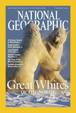 Cover of the February  2004 Issue of National Geographic Magazine