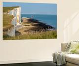 Looking Towards the Cliffs Near Beachy Head and the Lighthouse