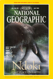 Cover of the July  1995 Issue of National Geographic Magazine