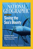 Cover of the April  2007 National Geographic Magazine