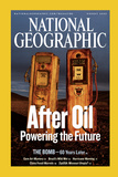 Cover of the August  2005 National Geographic Magazine