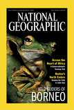 Cover of the October  2000 Issue of National Geographic Magazine