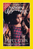 Cover of the October  1998 Issue of National Geographic Magazine