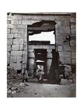 Karnak  Temple of Ramses IV  19th Century