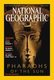 Cover of the April  2001 Issue of National Geographic Magazine