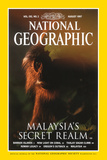 Cover of the August  1997 National Geographic Magazine