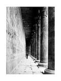 Temple of Horus at Edfu  20th Century