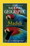 Cover of the March  2000 Issue of National Geographic Magazine
