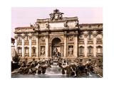 Trevi Fountain  1890s