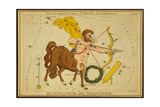 Sagittarius Constellation  Zodiac Sign  1825