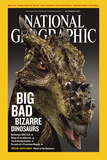 Cover of the December  2007 Issue of National Geographic Magazine