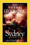 Cover of the August  2000 Issue of National Geographic Magazine