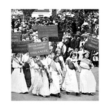 Labor Day Parade  Women's Suffrage  1912