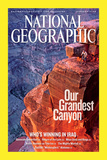 Cover of the January  2006 Issue of National Geographic Magazine