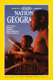 Cover of the October  1997 National Geographic Magazine