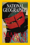 Cover of the May  2001 Issue of National Geographic Magazine