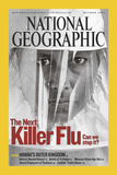 Cover of the October  2005 National Geographic Magazine