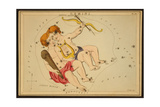 Gemini Constellation  Zodiac Sign  1825