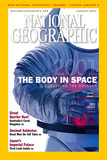 Cover of the January  2001 Issue of National Geographic Magazine