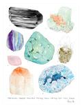 Crystal Specimen Chart