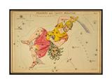 Perseus and Caput Medusae Constellations  1825
