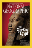 Cover of the April  2009 Issue of National Geographic Magazine