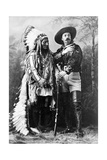 Sitting Bull and Buffalo Bill  1885