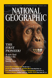Cover of the August  2002 Issue of National Geographic Magazine